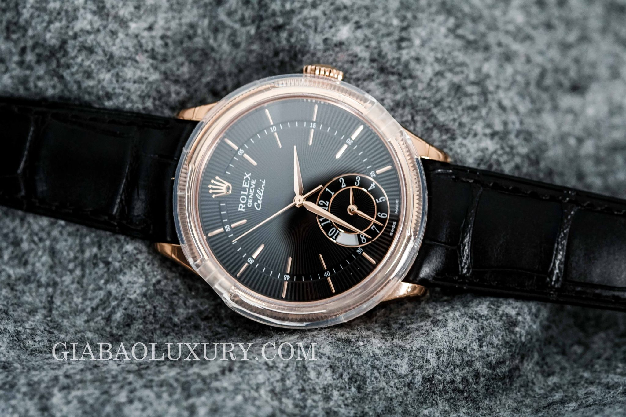 NEW 100% ĐỒNG HỒ ROLEX CELLINI DUAL TIME 50525