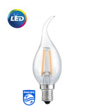 Bóng Philips LED Fila 2-25W B35