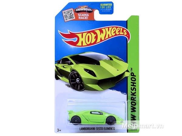 Xe Hot Wheels Lamborghini Sesto Elemento
