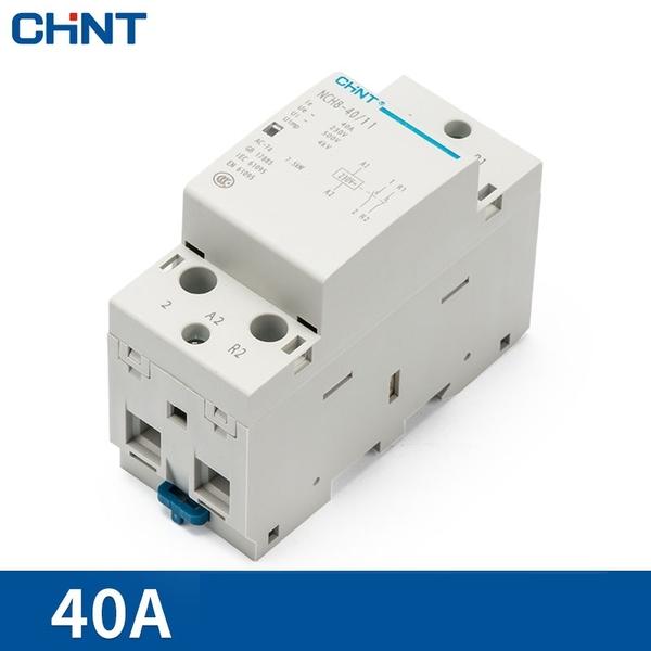 Khởi động từ 1 pha 40A 2P CHINT NCH8-40/20 (2 NO), NCH8-40A,NCH840A Điện Tử  360(E360)