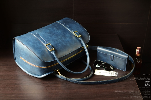 Duffle bag V-Navy