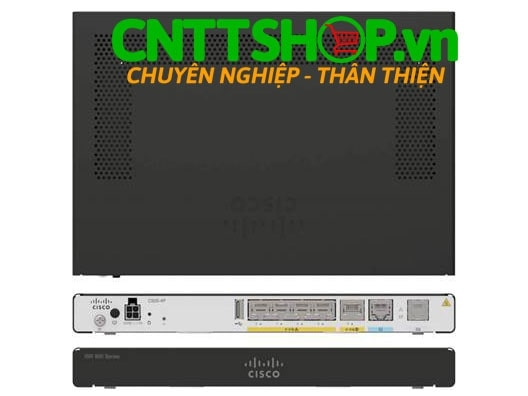 Cisco C927-4P ISR 927 Router with VDSL/ADSL2+ Annex A