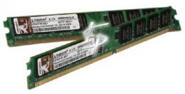 Kingston 2GB DDR2-800 CL6 240-Pin DIMM Kit (KVR800D2N6/2G)