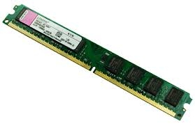 Kingston - DDR3 - 2GB - bus 1600 MHz