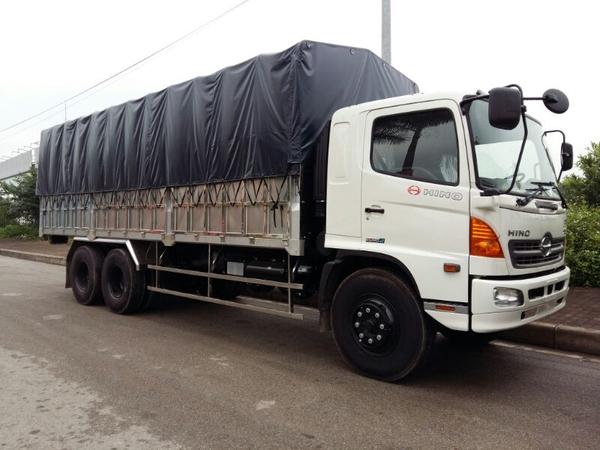 Mua xe tải hino 15 tấn thùng 9m25 - bán xe tải hino 15 tấn thùng bạt - hino 15 tấn thùng bạt 9m25