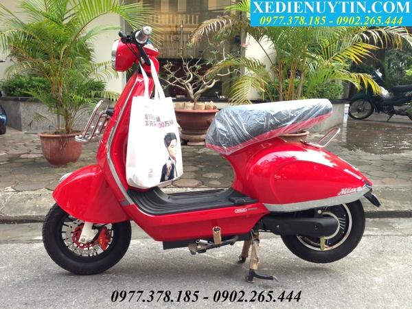 Xe dien Mocha Milan II nhap khau Zoomer Dibao chinh hang Giant 133s Xmen Nijia 2015 GIA RE NHAT