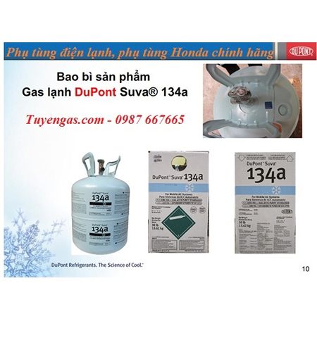 Gas Dupont R134a