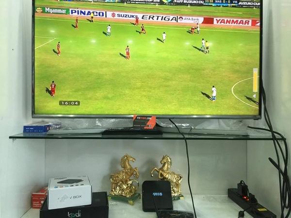 Dùng ứng dụng gì trên TV Box xem đội tuyển Việt Nam đá AFF CUPtốt nhất