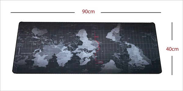 Mousepad Oversize Worldmap