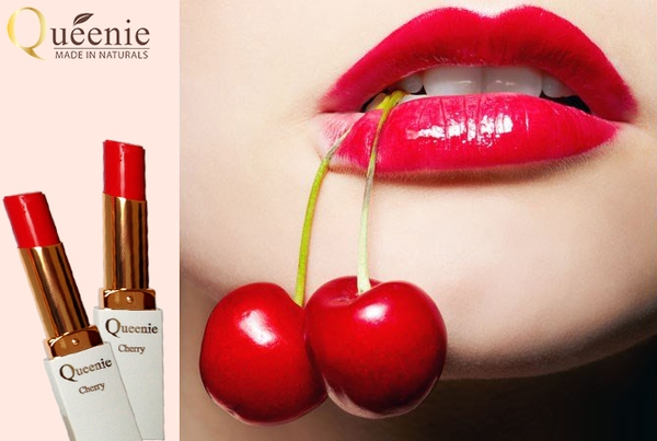 Son dưỡng môi mầu cherrymỹ phẩm Queenie