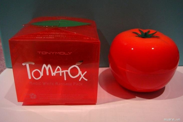 Tomatox Magic White Massage Pack - Mặt nạ cà chua Tonymoly