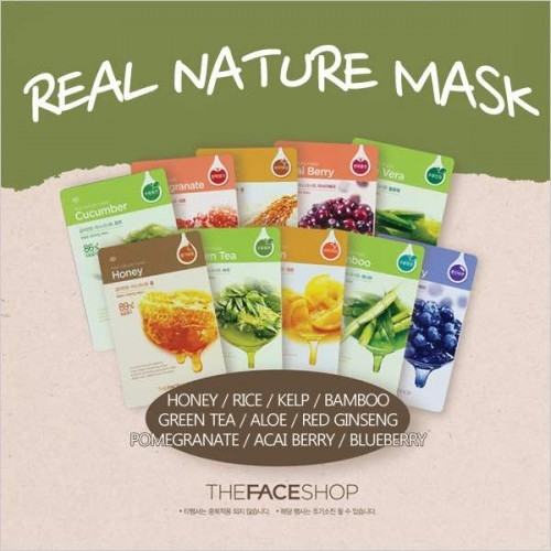 Mặt Nạ The Face Shop Real Nature Mask Sheet - 30g
