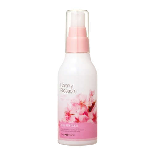 Xịt Dưỡng Tóc Cherry Blossom Clear Hair Mist The Face Shop