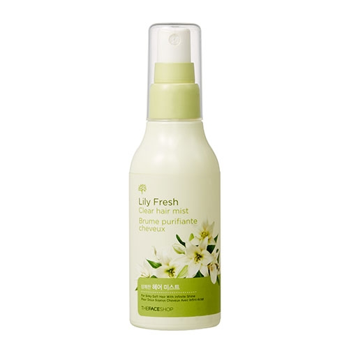 Xịt Dưỡng Tóc Lily Fresh Clear Hair Mist The Face Shop