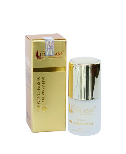 serum collagen trị nám gold linh sam