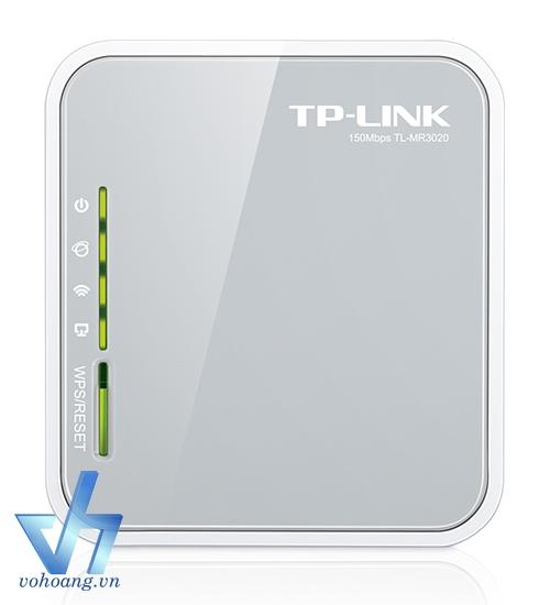TP-LINK MR3020   Bộ wifi kết hợp với USB 3G - Phù hợp cho xe khách