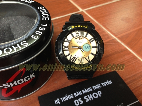 BABY-G BGA-133 Ver.2 Super Fake ( Gold Black )