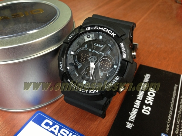 G-SHOCK GA-200 Super Fake ( Full Black )