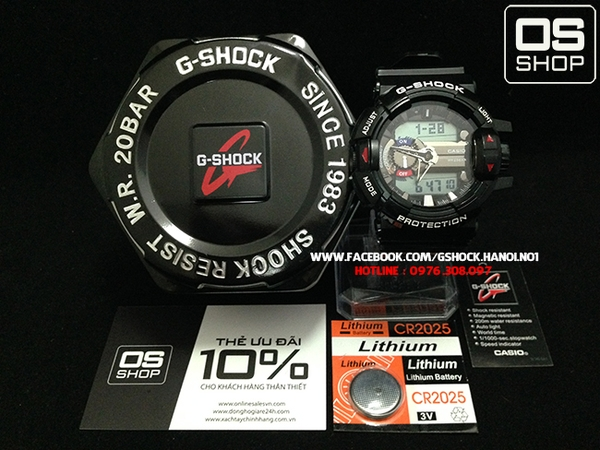 G-SHOCK GBA-400 BLACK WHITE - NEW 2015