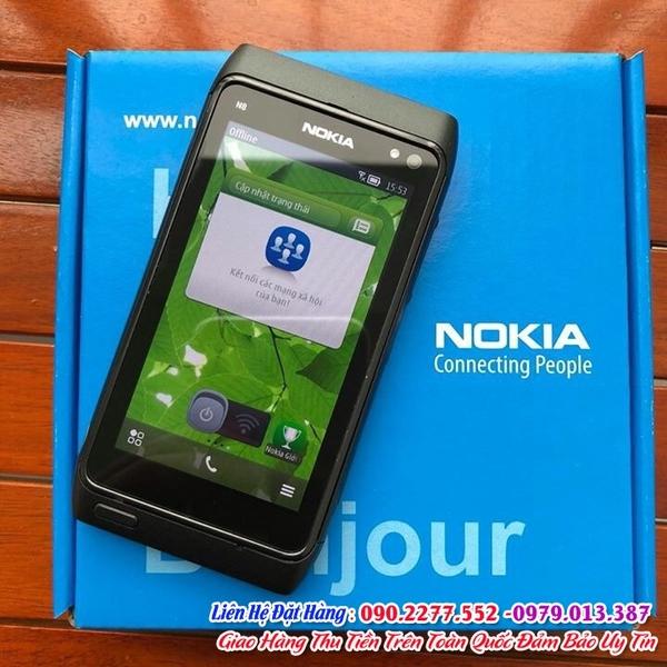 Bán điện thoại cảm ứng chính hãng nokia n8  giá chỉ 1 triệu/ máy tại   đường nguyễn biểu  hà nội