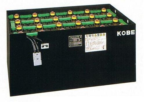 Ắc quy xe nâng KOBE Nhật Bản 48V/201Ah/5Hr cho xe nâng