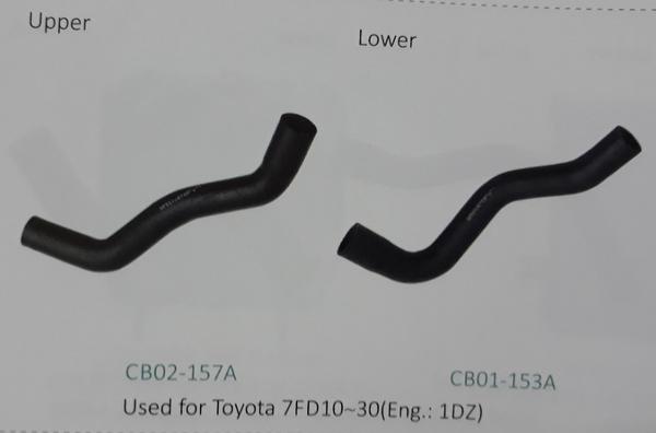 Ống nước xe nâng Toyota 7FD10~30 động cơ 1DZ