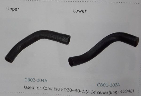 Ống nước xe nâng Komatsu FD20~30-12/-14 series động cơ 4D94E