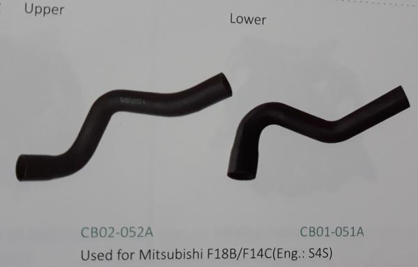 Ống nước xe nâng Mitsubishi F18B/F14C động cơ S4S