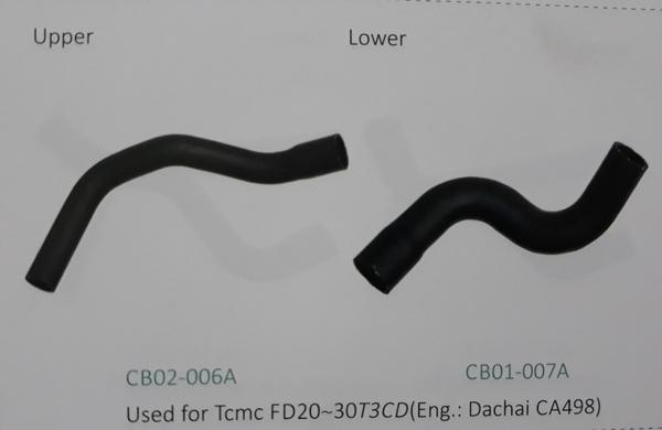 Ống nước xe nâng TCMC FD20~30T3CD động cơ Dachai CA498