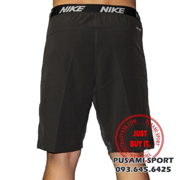 quần short nike tennis cạp bảng
