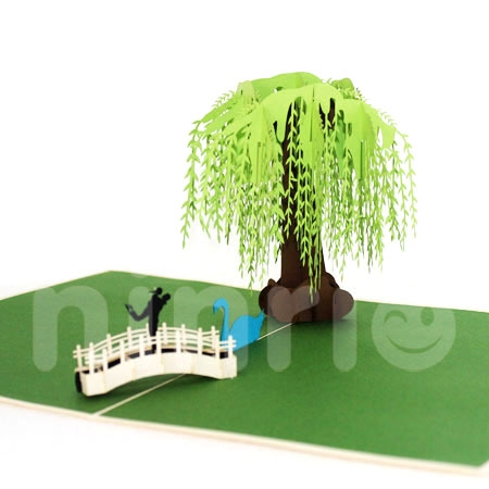 Willow tree 3d cardpopup cardlove and wedding card m4hsunfo