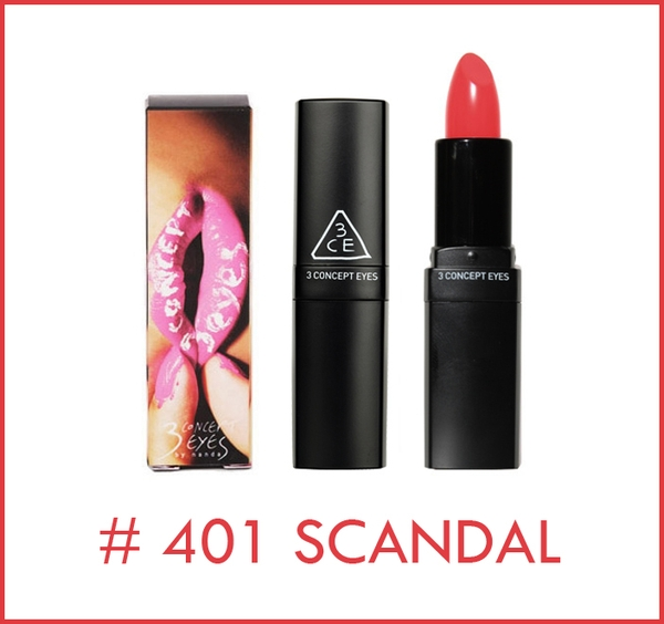 Son môi 3 Concept Eyes Lip Color #401 Scandal
