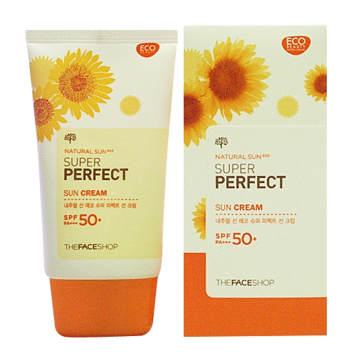 Kem chống nắng Super Perfect Sun Cream SPF 50 PA+++ The Face Shop