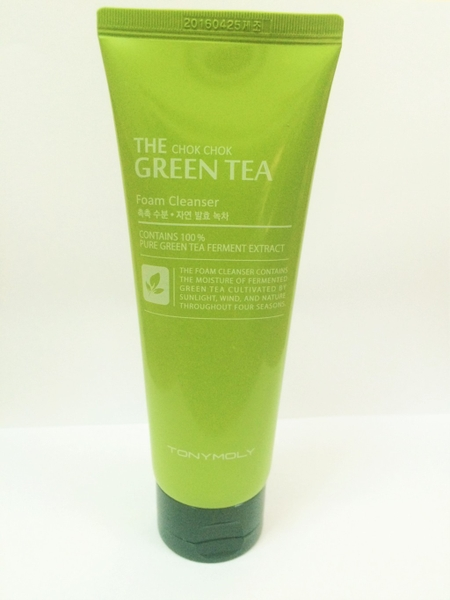 Sữa rửa mặt The Chok Chok Green Tea cleanser Foam Tonymoly
