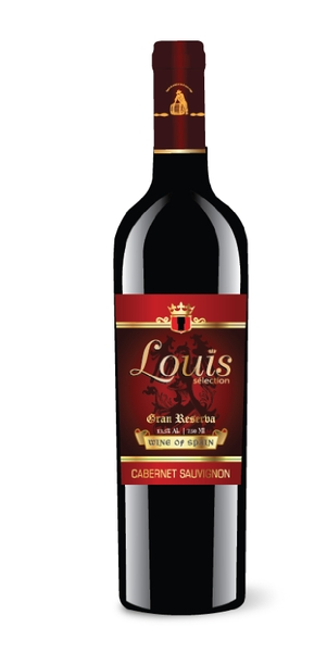 Chai vang Tây Ban Nha - Louis Selection Cabernet Sauvignon 13,5%vol 750ml