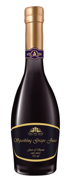 Chai Sparkling Grape Juice 750ml