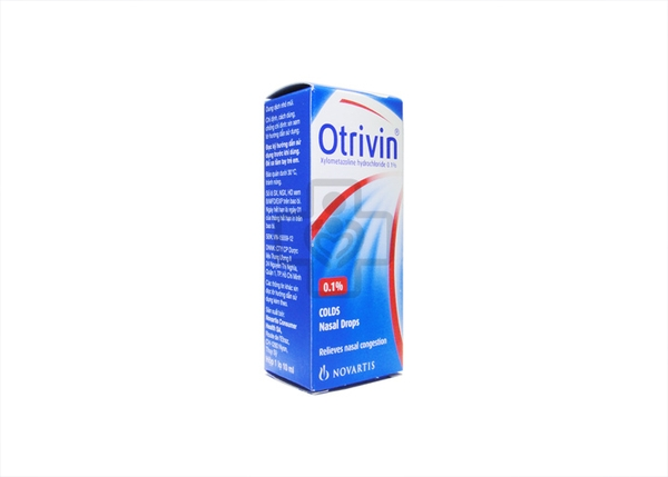 Otrivin Nasal Drop 0.1% 10ml