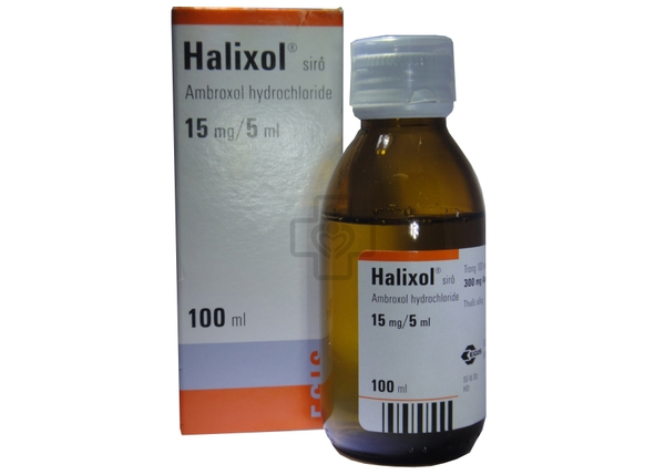 Halixol Syrup 300mg/100ml