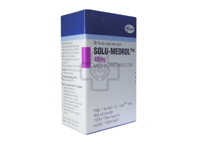 Solu-Medrol Injection 40mg
