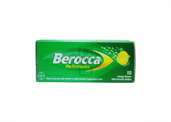 Berocca Performance Effervescent Tablet