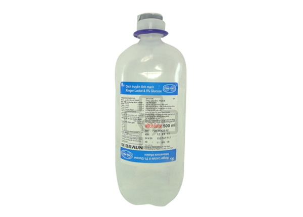 Ringer lactat & Glucose 5% Injection 500ml