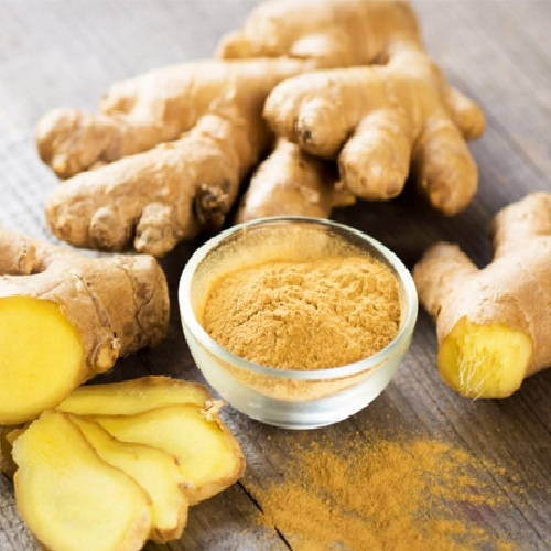 Ginger starch powder
