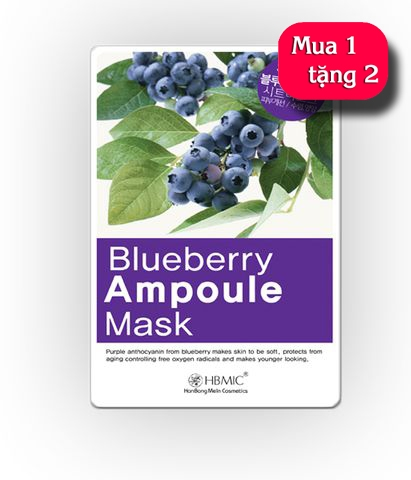 Mặt nạ HBMIC Blueberry Ampoule Mask