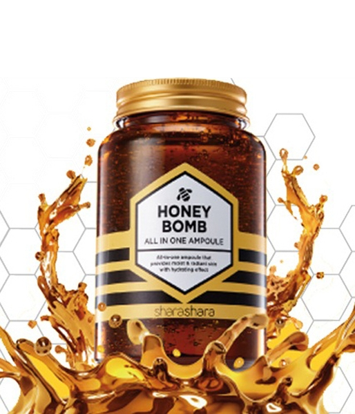 Tinh chất SHARASHARA Honey Bomb All In One Ampoule