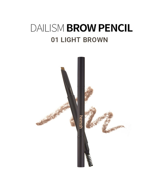 Chì kẻ mày Heimish Dailism Brow Pencil (Light Brown)