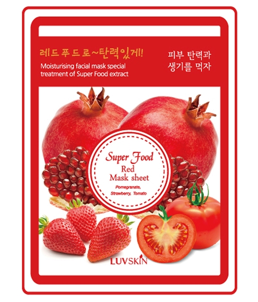 Mặt nạ Luvskin Super Food Red Mask Sheet