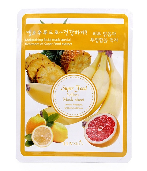 Mặt nạ Luvskin Super Food Yellow Mask Sheet