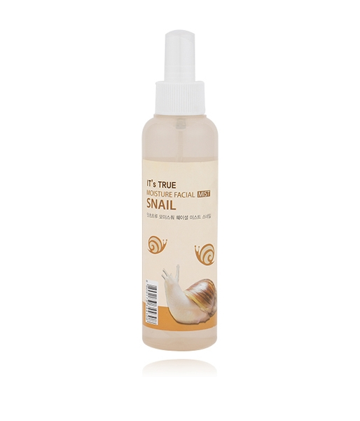 Xịt khoáng CELLIO It's True Moisture Facial Mist Snail