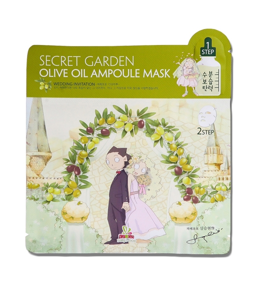 Mặt nạ IM1NE Sally's Box Secret Garden Olive Oil Ampoule Mask