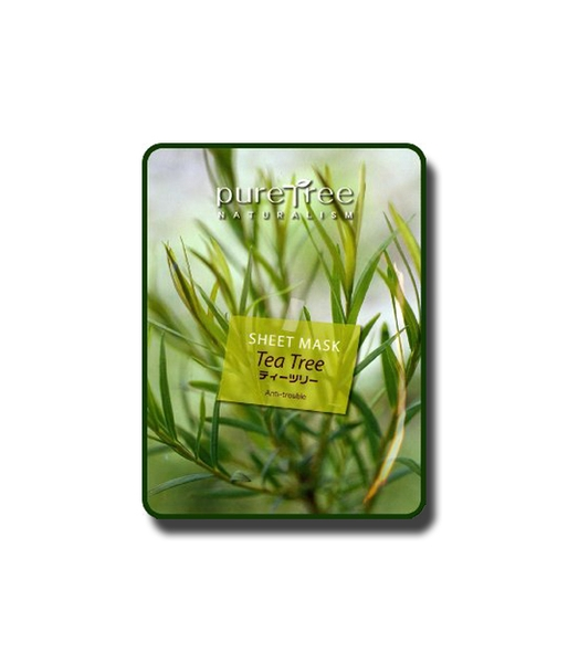 Mặt nạ GENIC Pure Tree Tea Tree Sheet Mask